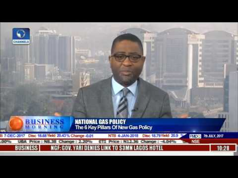 Business Morning: National Gas Policy Will Revamp Nigeria's Gas Sector In 5 Years - Gbite Adeniji