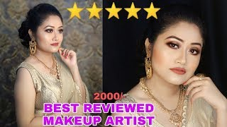 I WENT TO THE BEST REVIEWED MAKEUP ARTIST IN MY CITY || PRATITI