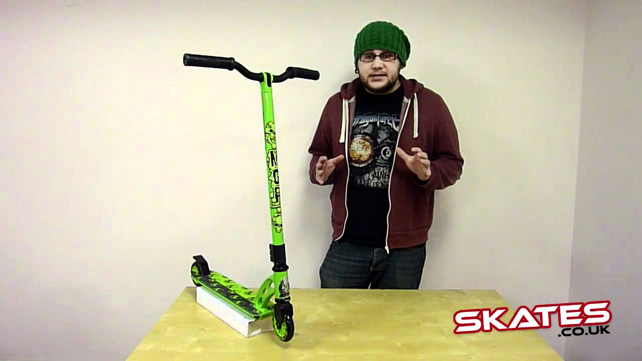 mgp vx2 pro scooter reviewed by ben grace madd gear pro youtube. Black Bedroom Furniture Sets. Home Design Ideas
