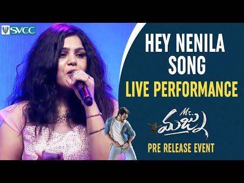 Hey Nenila Song LIVE Performance | Mr Majnu Pre Release Event | Akhil Akkineni | Jr NTR | Nidhhi Mp3