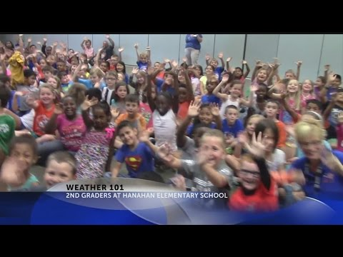 Rob Fowler Visits the 2nd Grade at Hanahan Elementary School for Weather 101
