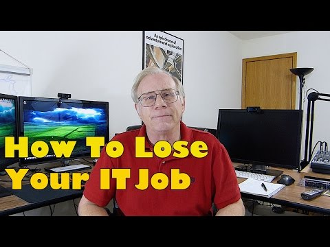 10 Surefire Ways to Lose Your #Sysadmin Job