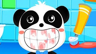 Baby Toothbrush - Learn Pairs With Baby Panda - Fun Educational Children Games