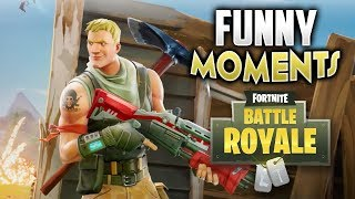 FORNITE FUNNY MOMENTS - FAILS, WTF MOMENTS, TROLLING KIDS & MORE!