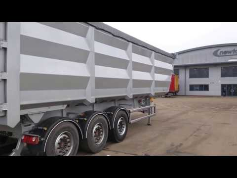 New 2017 Newton Steel Tipping Trailer - The Lightest