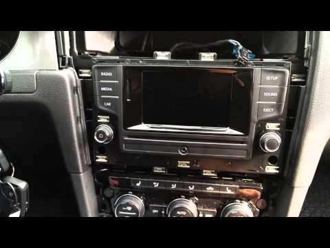 2015 golf 7 2015 gti navigation interface doovi. Black Bedroom Furniture Sets. Home Design Ideas