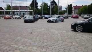 Audi TTS & Audi TTRS (Martini Racing) Audi Forum Ingolstadt(Willkommen auf der Audi Piazza in Ingolstadt, 2 von gepfeffert.com gemoddeten Audi TT's: Audi TTS in matt grau und ein Audi TT RS im Martini Racing Look, ..., 2014-06-25T20:33:58.000Z)