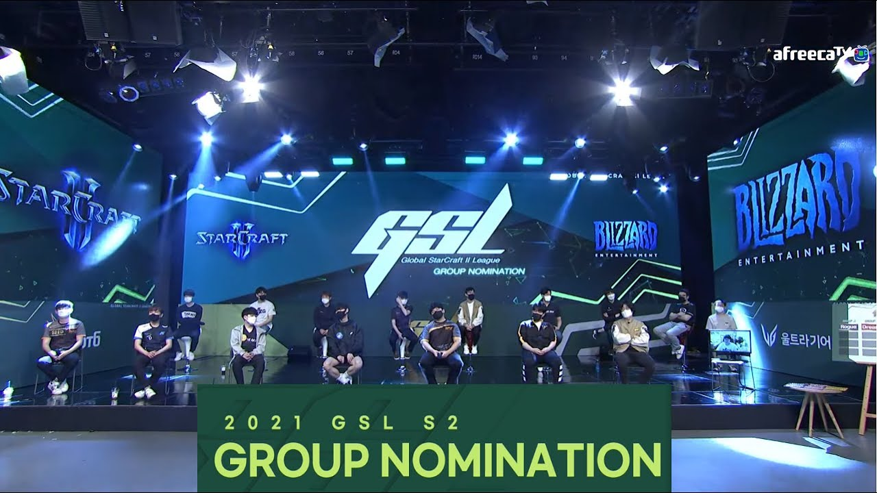 [2021 GSL S2] Code S Ro.16 Group Nominations