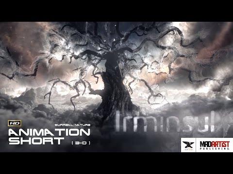 """CGI 3D Animation Short """"IRMINSUL"""". Fantastically Surreal Film by ArtFX"""