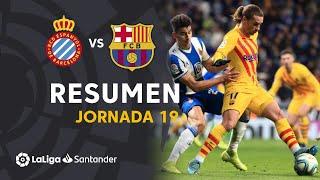 Resumen de RCD Espanyol vs FC Barcelona (2-2)