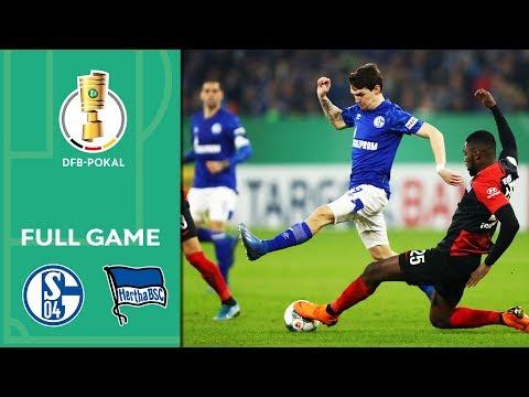 Schalke 04 Vs. Hertha BSC 3-2 | Full Game | DFB-Pokal 2019/20 | Round Of 16