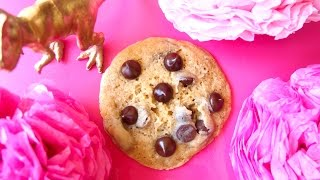 1 Minute Chocolate Chip Cookie For 1  - Easy Microwave Recipe