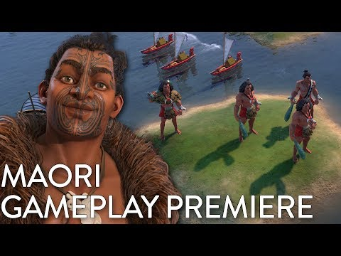 Civilization VI: Gathering Storm - Maori Gameplay Premiere (Dev Livestream)