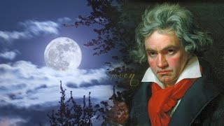 Beethoven 'Moonlight Sonata' Piano Sonata No. 14 (2 HOURS) - Classical Music Piano for Studying HD
