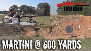 Martini Henry Sniper Rifle? Long Range 600 Yard Test