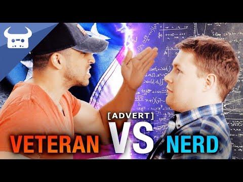 Rap Battle: NERD vs. VETERAN | Immortal Conquest
