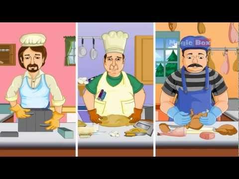 Rub A Dub Dub - English Nursery Rhymes - Cartoon/Animated Rhymes For Kids