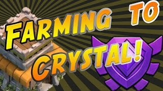 """Clash of Clans: Townhall 8 """"Trophy Farming to Crystal League!"""""""