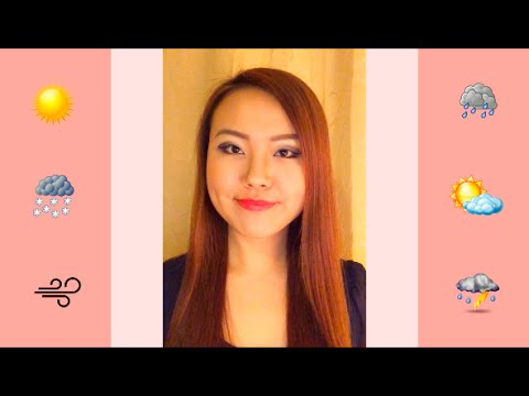 Learn Chinese Mandarin lessons for beginners: How to talk about weather