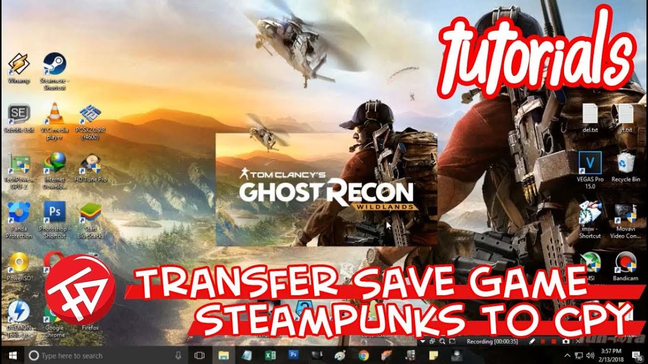 Transfer Save Game STEAMPUNKS to CPY (Tom Clancy's Ghost Recon: Wildlands)