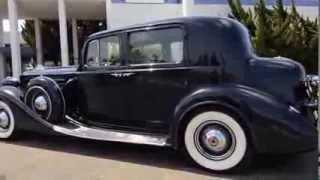 1937 Packard V12 Model 1507 Club Sedan Sold
