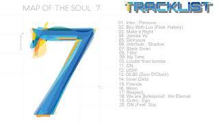 Gambar cover [FULL TRACKLIST/ALBUM] BTS (방탄소년단) MAP OF THE SOUL : 7