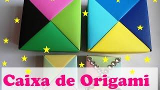 CAIXA DE ORIGAMI 4 CORES