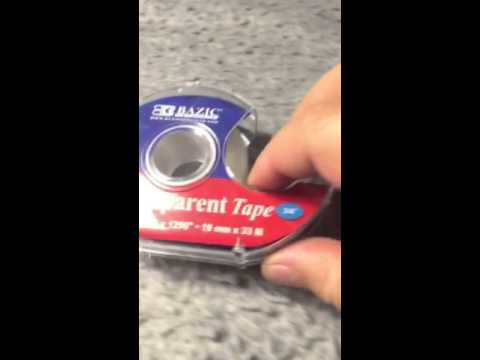 How to clean Velcro with the common scotch tape dispenser by dog gone dog products