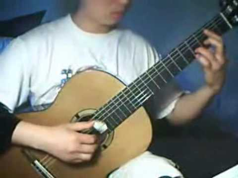 Partituras de guitarra clasica francisco tarrega for Partituras guitarra clasica