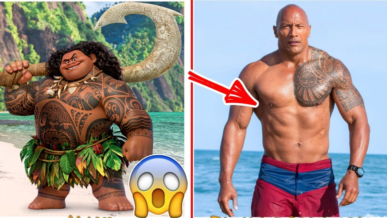 Disney Moana Behind The Voices-Moana Characters in Real Life | Top 10s