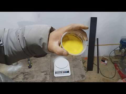 Простой способ как покрасить песок () для Гибкого Камня
