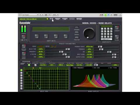 Eventide H3000 Band Delays: Legacy presets with Drums