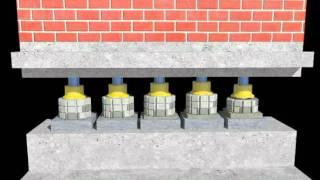 Усиление фундаментов и подъём здания Церкви (Ассоциация