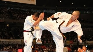 THE 10th WORLD KARATE CHAMPIONSHIP Men 5th round Naohiro Nomoto vs ...