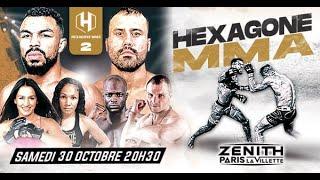 HEXAGONE MMA 2 -  le 30 octobre au  Zénith de Paris !