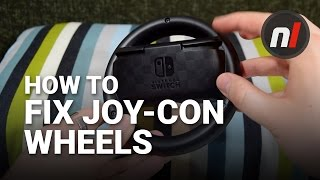 How to Fix the Problem with Joy-Con Steering Wheels for Nintendo Switch | Mario Kart 8 Deluxe