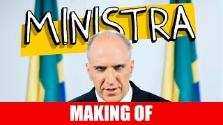 Vídeo - Making Of – Ministra
