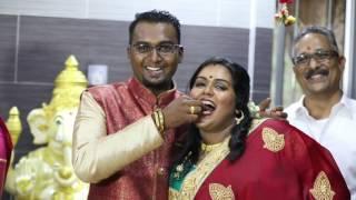 The engagemint of Vimal and vimala
