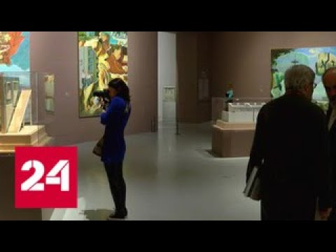 Тотальные инсталляции: в Эримтаже открылась ретровыставка - Россия 24