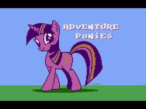 Adventure Ponies - Atari (XL/XE) v.0.88
