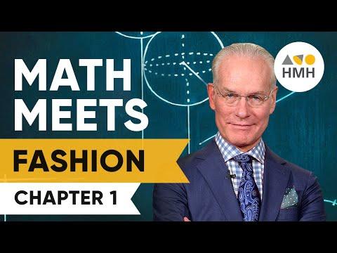 MATH@WORK Math Meets Fashion – Chapter 1 Meet Tim Gunn and Diane von Furstenberg