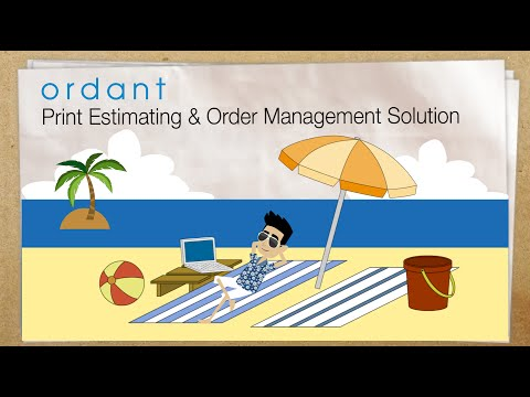 Print MIS Software – Cloud Print Estimating and Order Management by Ordant