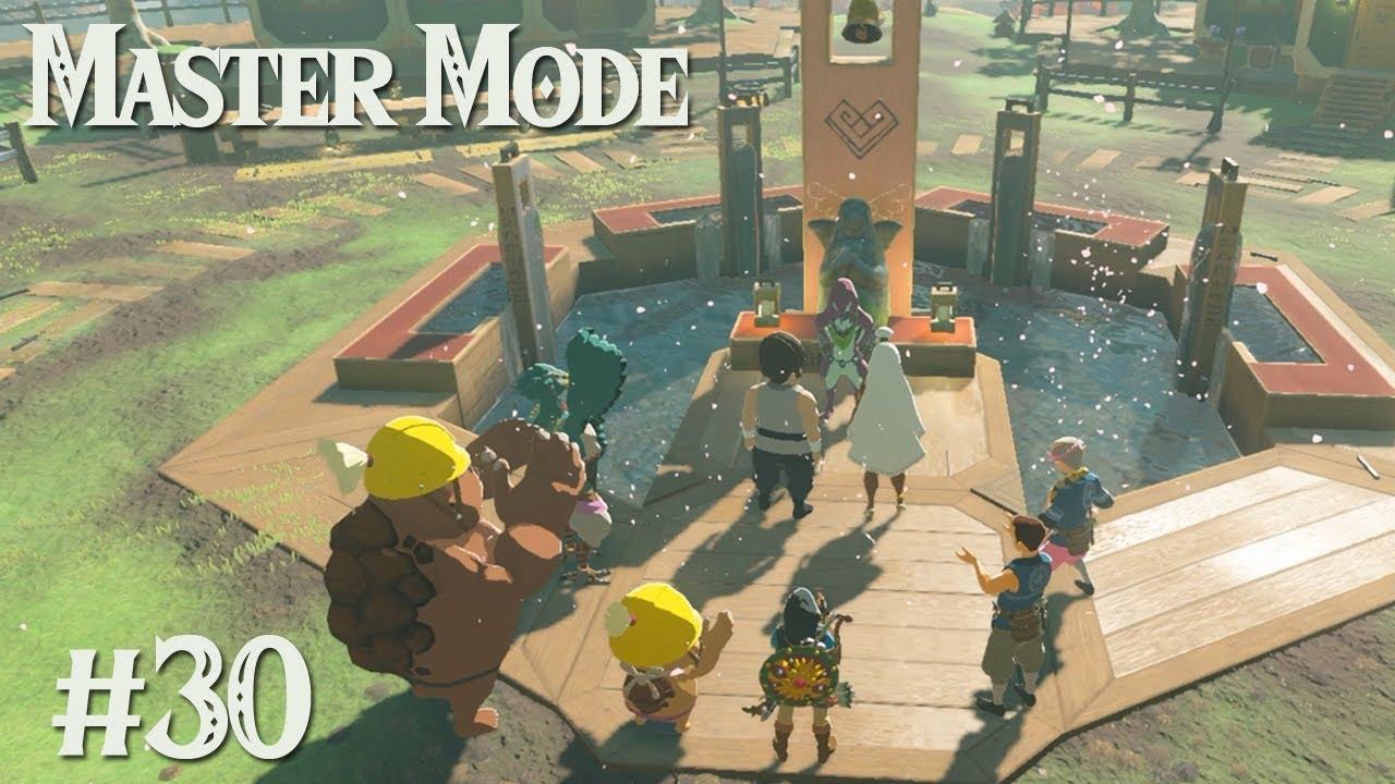 The Wedding Of Tarrey Town Zelda Botw Master Mode 30