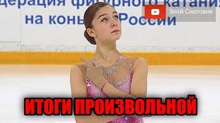 ИТОГИ ПРОИЗВОЛЬНОЙ ПРОГРАММЫ Женщины Кубок России 2020 в Сызрани Первый Этап