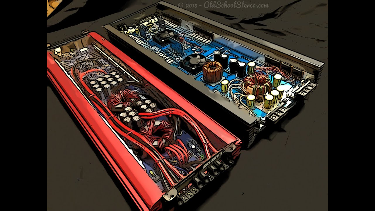 us amps vlx 25 vs planet audio p225hc overview zed vs red youtube. Black Bedroom Furniture Sets. Home Design Ideas