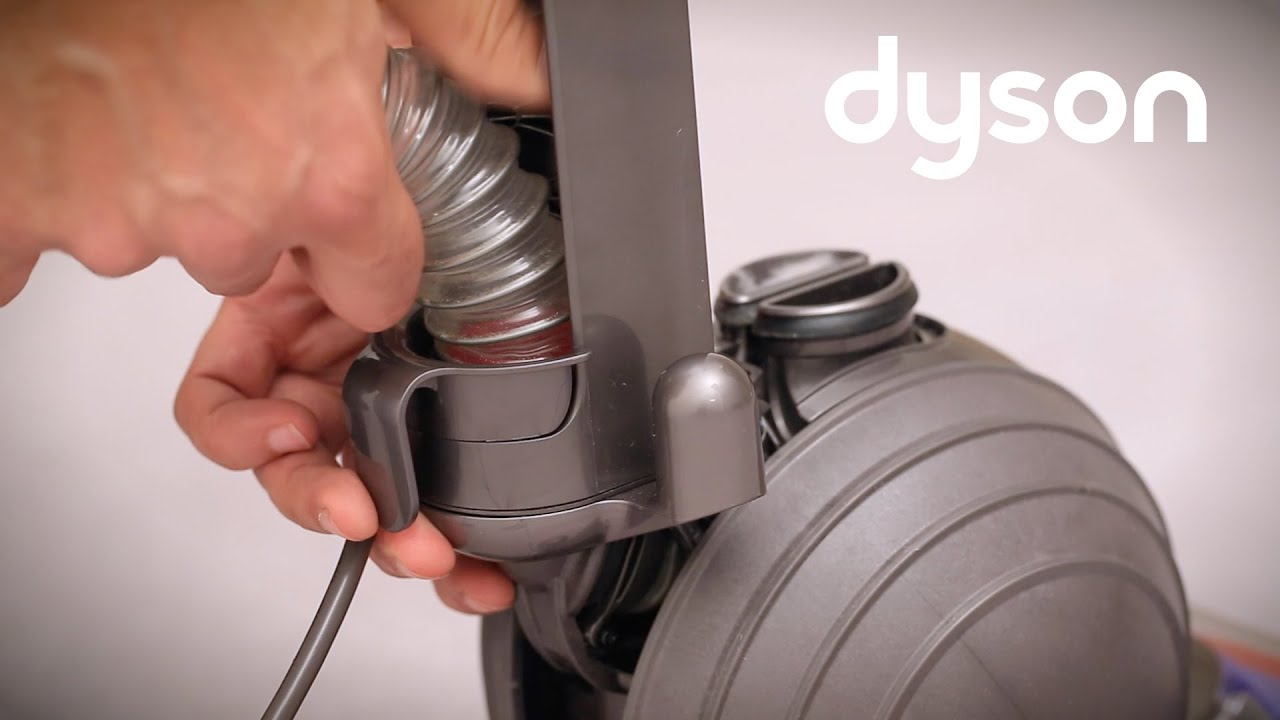 Dyson Small Ball Upright Vacuum Checking The Wand And Hose For Diagram Parts List Model Dc14 Dysonincparts Vacuumparts Blockages Uk Youtube