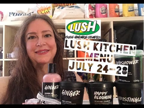 Lush Kitchen Menu July 24-28 - YouTube