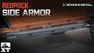 1987-2006 Wrangler RedRock 4x4 Side Armor (YJ & TJ) Review