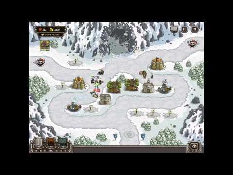 Kingdom Rush HARD DIFFICULTY- Sarelgaz's Lair Campaign on iPad |