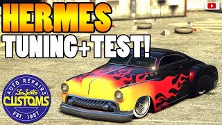 😍🛠Bestes Vice City Muscle Car! HERMES Tuning + Test!🛠😍 [GTA 5 Online Doomsday Heist Update DLC]